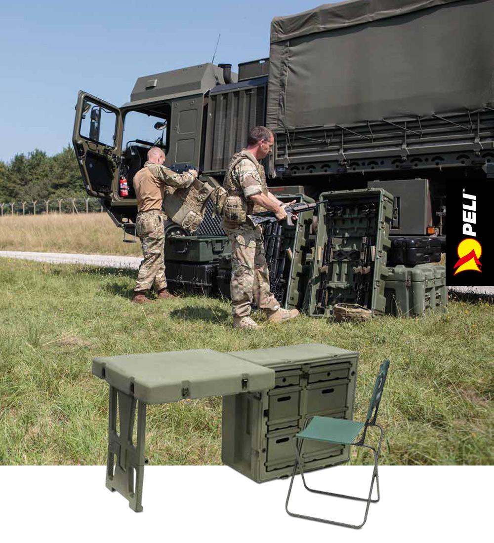 Peli Hardigg Mobile Military kufry