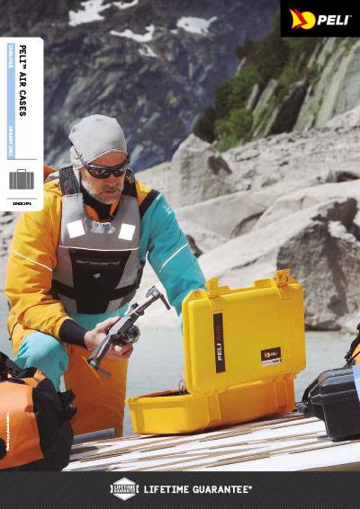 Katalog kufry PELI Air (EN)