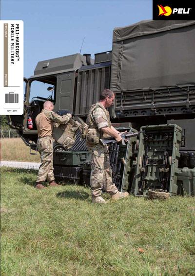 Katalog kufry PELI Mobile Military (EN)